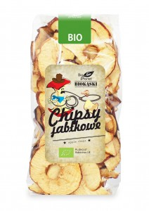 Chipsy jabłkowe BIO 100 g Bio Planet
