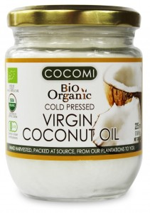 Olej kokosowy Virgin BIO 225 ml Cocomi